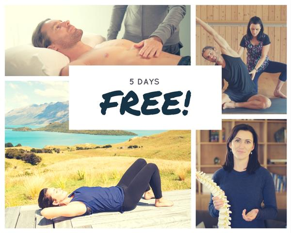 5 days free of the big exhale breathing course online by Emma Ferris