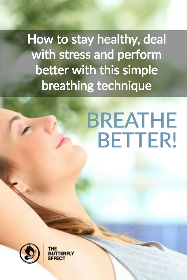 How to breathe better with this simple technique